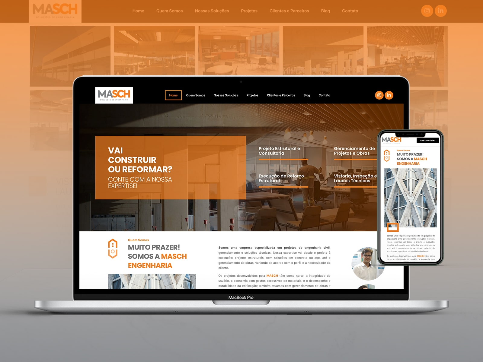 Site Masch Engenharia